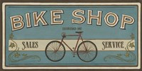 Bike Shop I by June Erica Vess - various sizes - $17.99