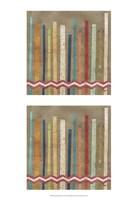 2-Up Paper Fences II Framed Print