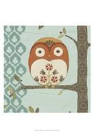 Forest Whimsy I Framed Print