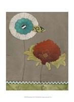 "Petal Patterns VII by June Erica Vess - 10"" x 13"""