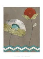"Petal Patterns VIII by June Erica Vess - 10"" x 13"""