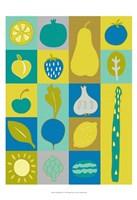 """Veggie Blocks I by Chariklia Zarris - 13"""" x 19"""""""
