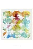 "Merging Color II by Jennifer Goldberger - 13"" x 19"", FulcrumGallery.com brand"