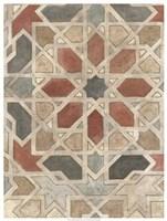 Non-Embellished Marrakesh Design II Framed Print