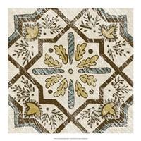 "Non-Embellished Batik Square V by Chariklia Zarris - 18"" x 18"""