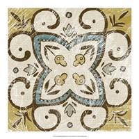 "Non-Embellished Batik Square VI by Chariklia Zarris - 18"" x 18"""