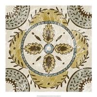 "Non-Embellished Batik Square VII by Chariklia Zarris - 18"" x 18"""