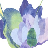 False Indigo II Fine Art Print
