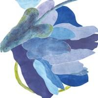Sideways Indigo I Fine Art Print