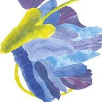 Sideways Indigo III Fine Art Print