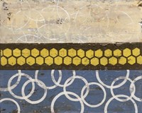 Honey Comb Abstract I by Natalie Avondet - various sizes