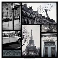 "Snapshots of Paris by Vision Studio - 19"" x 19"""