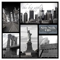 "Snapshots of New York by Vision Studio - 19"" x 19"""
