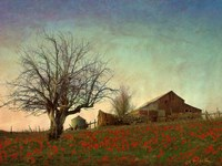 Barn on the Hill by Chris Vest - various sizes, FulcrumGallery.com brand