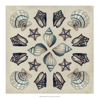 Coastal Kaleidoscope I Framed Print