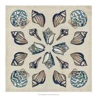 "Coastal Kaleidoscope IV by June Erica Vess - 18"" x 18"""