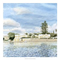 """Bermuda Shore I by Megan Meagher - 20"""" x 20"""""""