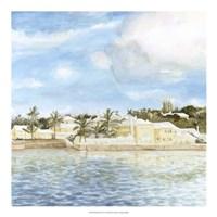 "Bermuda Shore II by Megan Meagher - 20"" x 20"""