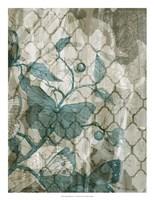 Arabesque Butterflies V Framed Print