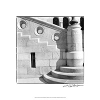 "Architecture Detail I Budapest by Laura Denardo - 18"" x 18"""