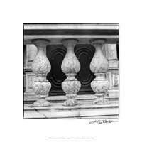 "Architecture Detail VIII Budapest by Laura Denardo - 18"" x 18"""