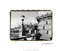 "View of the Royal Palace, Budapest by Laura Denardo - 21"" x 17"""