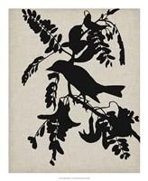 Audubon Silhouette V Fine Art Print