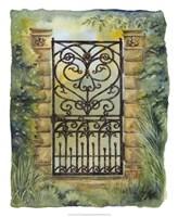 Iron Gate I Fine Art Print