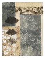 "Ginkgo Fossil I by Jennifer Goldberger - 20"" x 26"" - $34.49"