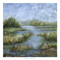 "Marshland I by Beverly Crawford - 20"" x 20"""