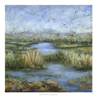 "Marshland II by Beverly Crawford - 20"" x 20"""