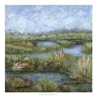 "Marshland IV by Beverly Crawford - 20"" x 20"""