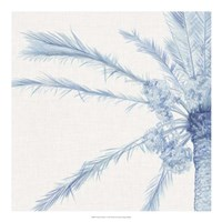 """Chambray Palms I by Megan Meagher - 20"""" x 20"""""""