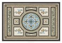 Chateau Panel I Framed Print