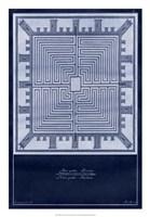 "Indigo Tile I by Vision Studio - 18"" x 26"""