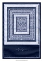 "Indigo Tile IV by Vision Studio - 18"" x 26"""