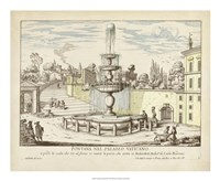 Fountains of Rome III Fine Art Print