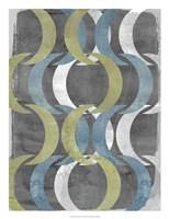 """Geometric Repeat I by Jennifer Goldberger - 20"""" x 26"""""""
