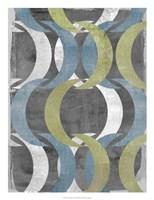"""Geometric Repeat II by Jennifer Goldberger - 20"""" x 26"""""""