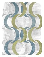 """Geometric Repeat III by Jennifer Goldberger - 20"""" x 26"""""""