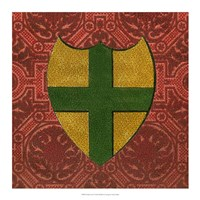 "Noble Crest I by Vision Studio - 17"" x 17"""