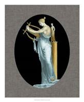 Grecian Beauty I Framed Print