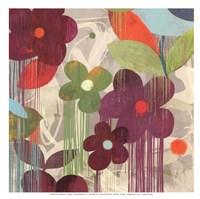 """Graffiti Flower II - mini by Posters International Studio - 13"""" x 13"""""""