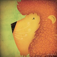 Lion WOW Fine Art Print