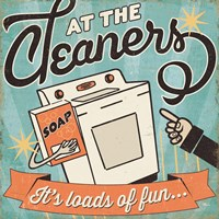 The Cleaners II Fine Art Print