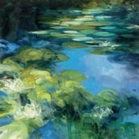 Water Lilies II Fine Art Print