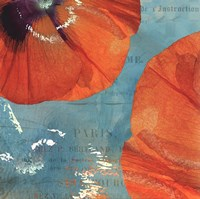 Poppies in the Sky II Fine Art Print