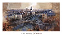 "Ciel de Paris by Marti Bofarull - 39"" x 22"""