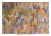 Concerto Grey Fine Art Print