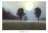 "Two Tress & Sunburst by Monte Nagler - 39"" x 28"""
